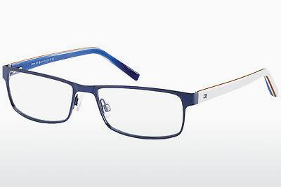 Lunettes design Tommy Hilfiger TH 1127 4XR - Bleues, Blanches, Rouges