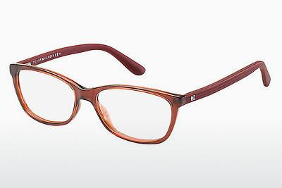 Lunettes design Tommy Hilfiger TH 1280 FJ1 - Orange, Rouges