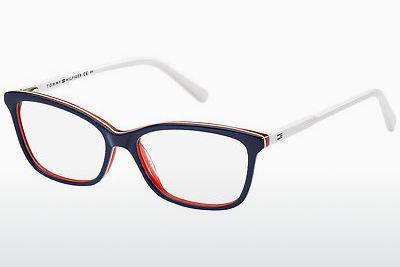 Lunettes design Tommy Hilfiger TH 1318 VN5 - Bleues, Rouges, Blanches