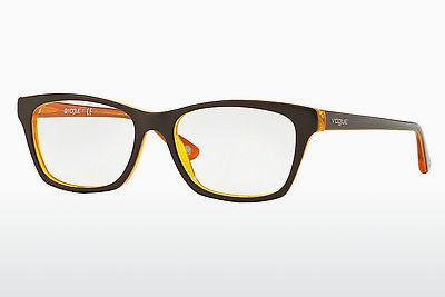 Lunettes design Vogue VO2714 2279 - Brunes, Jaunes, Orange