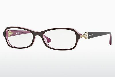 Lunettes design Vogue VO2789B 1941 - Brunes, Rose
