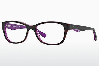 Lunettes design Vogue VO2814 2019 - Brunes, Havanna