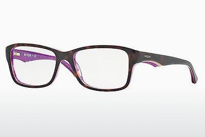 Lunettes design Vogue VO2883 2019 - Brunes, Havanna