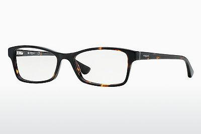 Lunettes design Vogue VO2886 W656 - Brunes, Havanna