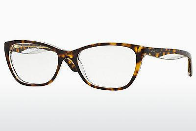 Lunettes design Vogue VO2961 1916 - Transparentes, Brunes, Havanna