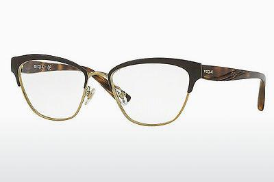 Lunettes design Vogue VO4033 997 - Brunes, Or