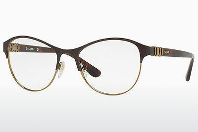 Lunettes design Vogue VO4051 997 - Brunes, Or