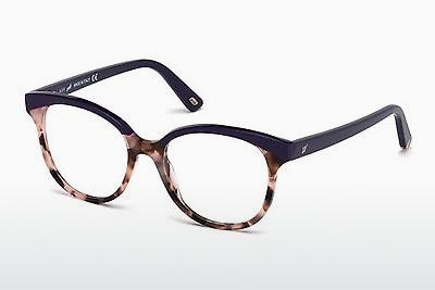 Lunettes design Web Eyewear WE5196 056 - Brunes, Havanna