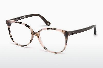 Lunettes design Web Eyewear WE5199 056 - Brunes, Havanna