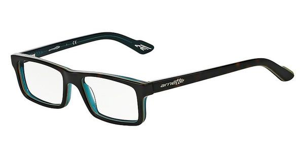 Arnette AN7060 1103 TOP HAVANA ON GREEN/TRANSP