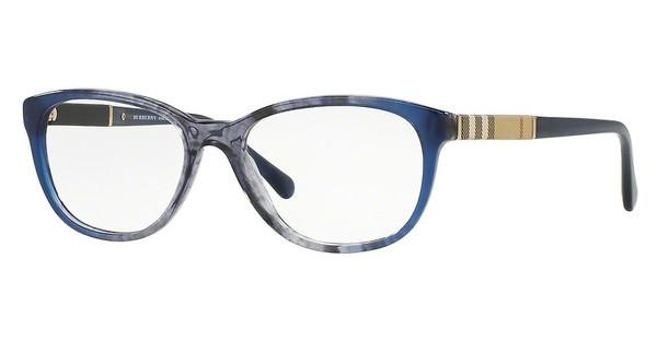 Burberry BE2172 3613 BLUE GRADIENT STRIPED