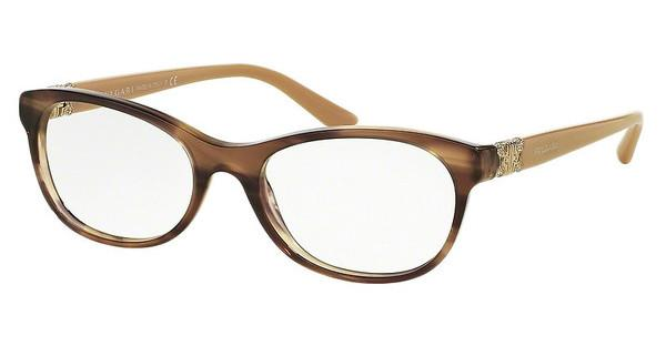 Bvlgari BV4117B 5240 STRIPED BROWN