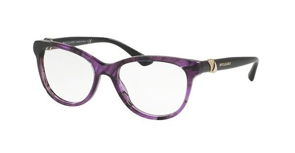 Bvlgari BV4127B 5405 STRIPED VIOLET