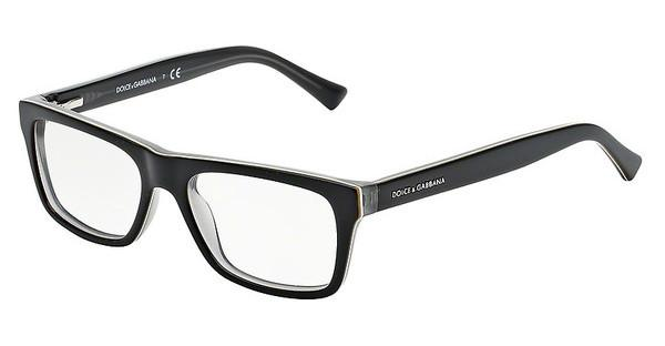 Dolce & Gabbana DG3205 1871 TOP BLACK ON GREY