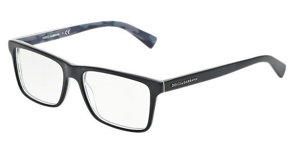 Dolce & Gabbana DG3207 2803 TOP BLACK ON MATTE MIMETIC