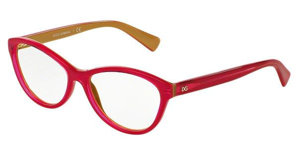 Dolce & Gabbana DG3232 2957 TOP FUXIA ON GOLD