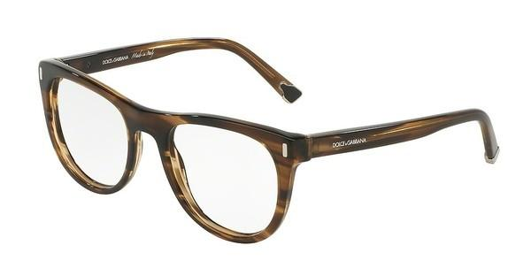Dolce & Gabbana DG3248 2925 STRIPED TOBACO