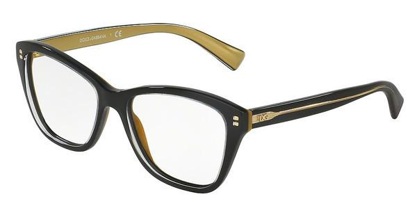 Dolce & Gabbana DG3249 2955 TOP BLACK ON GOLD