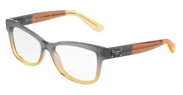 Dolce & Gabbana DG3254 3074 GRAD BROWN/CARAMEL/YELLOW