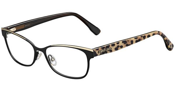 Jimmy Choo JC147 PWN BK ANIMAL