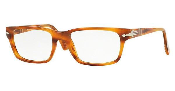 Persol PO3096V 960 STRIPPED BROWN
