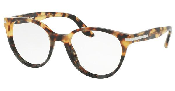 Prada PR 07TV U6O1O1 MEDIUM HAVANA/SPOTTED GREEN