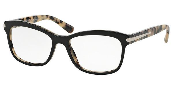 Prada PR 10RV ROK1O1 TOP BLACK/WHITE HAVANA