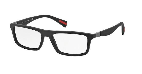 Prada Sport PS 02FV DG01O1 BLACK RUBBER