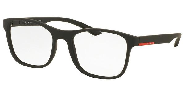 Prada Sport PS 08GV DG01O1 BLACK RUBBER