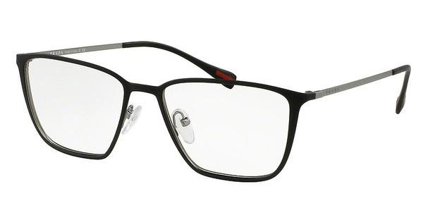 Prada Sport PS 51HV DG01O1 TOP BLACK RUBBER/GUNMETAL