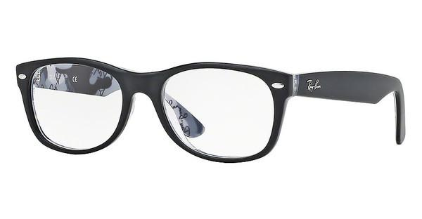 Ray-Ban RX5184 5405 TOP MAT BLACK ON TEX CAMUFLAGE