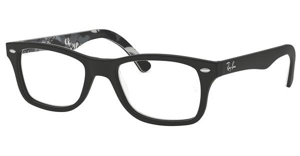 Ray-Ban RX5228 5405 TOP MAT BLACK ON TEX CAMUFLAGE