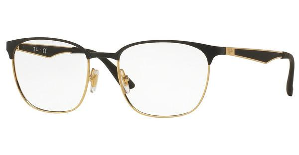 Ray-Ban RX6356 2875 TOP MATTE BLACK ON SHINY GOLD