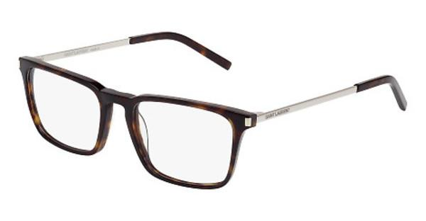Saint Laurent SL 112 002 HAVANA, SILVER