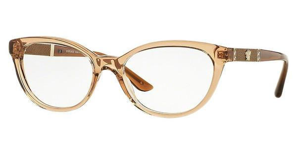 Versace VE3219Q 617 TRANSPARENT BROWN