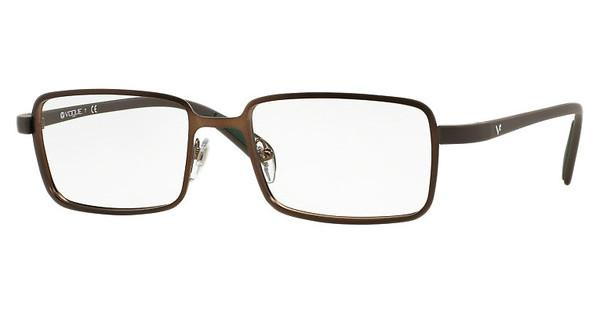 Vogue VO3943 934S MATTE BRUSHED BROWN