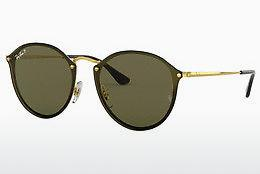 Lunettes de soleil Ray-Ban BLAZE ROUND (RB3574N 001/9A) - Or