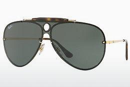 Lunettes de soleil Ray-Ban Blaze Shooter (RB3581N 001/71) - Or