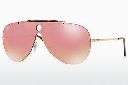 Lunettes de soleil Ray-Ban Blaze Shooter (RB3581N 001/E4) - Or