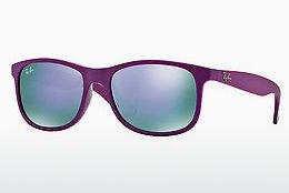 Lunettes de soleil Ray-Ban ANDY (RB4202 60714V) - Pourpre