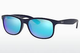 Lunettes de soleil Ray-Ban ANDY (RB4202 615355) - Bleues