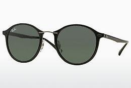 Lunettes de soleil Ray-Ban Round Ii Light Ray (RB4242 601/71) - Noires