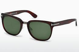 Lunettes de soleil Tom Ford Rock (FT0290 52N) - Brunes, Dark, Havana