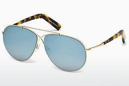Lunettes de soleil Tom Ford Eva (FT0374 28X) - Or
