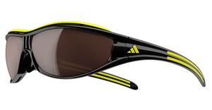 Adidas A127 6108 LST polarized silver + LST bright (antifog)black/yellow