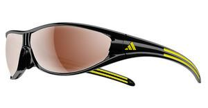 Adidas A267 6108 LST polarized silverblack/yellow