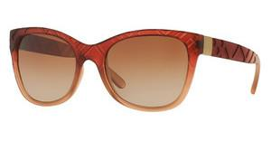 Burberry BE4219 358413 BROWN GRADIENTMATTE BOREDAUX GRADIENT