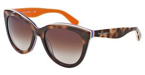 Dolce & Gabbana DG4207 276513 BROWN GRADIENTHAVANA/MULTILAYER/ORANGE