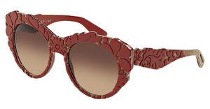 Dolce & Gabbana DG4267 299913 BROWN GRADIENTTOP RED/TEXTURE TISSUE