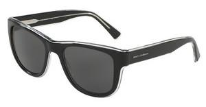 Dolce & Gabbana DG4284 675/87 GREYTOP BLACK ON CRYSTAL